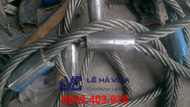 sling Cáp, sling cáp Hàn Quốc, cáp Hàn Quốc, sling cáp thép, cáp thép nhập khẩu