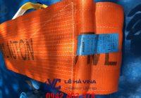 dây cáp vải 10 tấn, cáp vải, cáp vải cẩu hàng, dây cáp vải, cáp thép Lê Hà
